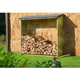 Kaminholzregal, Brennholzregal Aktion Holzlager von Gartenpirat® -